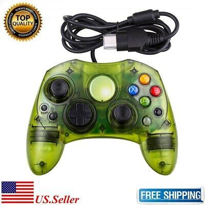 New Clear Green Wired Controller Control Pad for Original
