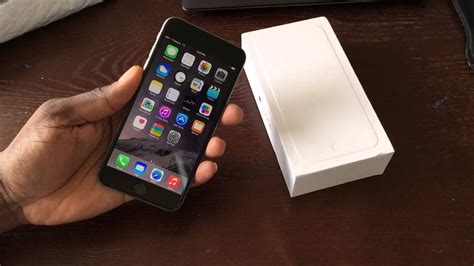 Space Grey T-Mobile 128GB iPhone 6 Plus (UNBOXING) - YouTube
