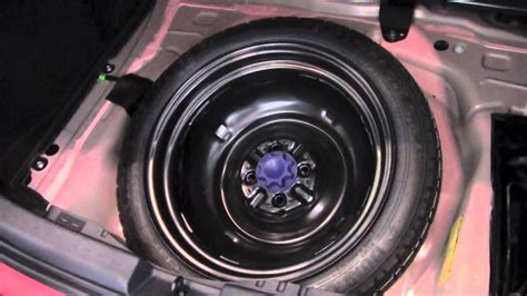 2012 | Toyota | Prius C | Spare Tire/Tool Kit | How To By
