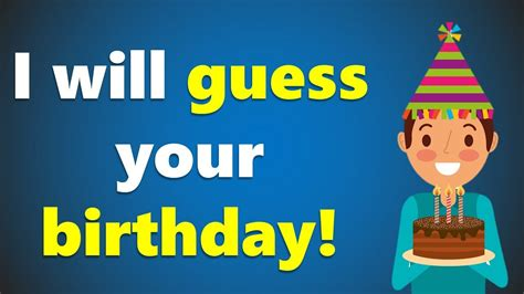 I will guess your Birthday - Crazy math trick!!! - YouTube
