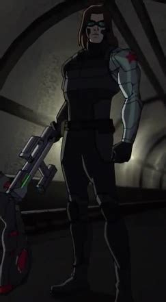 Winter Soldier (Marvel Universe) | Marvel Animated