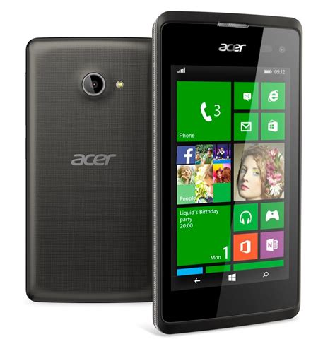 The Liquid M220, the first Acer Windows Phone 8