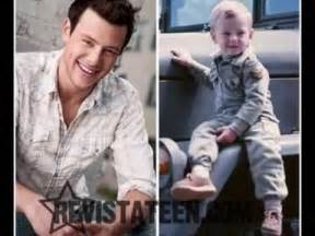 Cory Monteith as a child - YouTube