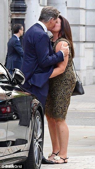 Pierce Brosnan And His Wife Keely Shaye Smith Show PDA As