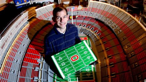 Lego Ohio Stadium Made With A Million Pieces : The Two-Way