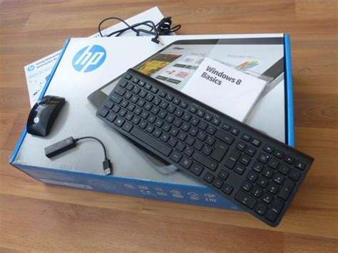 Test all-in-One PC HP ENVY Rove 20 - detailní pohled do