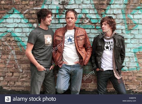 The British blues rock band The Brew with guitarrist Jason