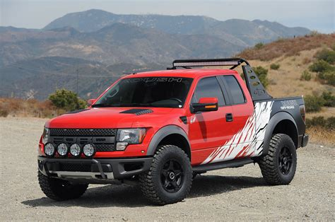 Roush Builds Supercharged Raptor For Charity - Ford-Trucks