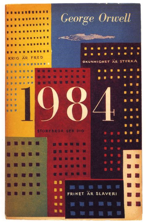 01 Olle Eksell, book cover, 1959, George Orwell, 1984 | Flickr