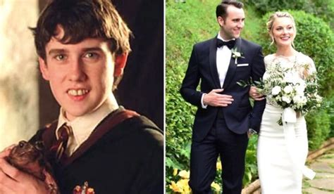 Neville Longbottom Just Got Married & We Can't Get Over