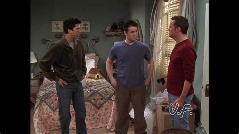 Unofficially Friends - Ross Helps Chandler and Joey Pack